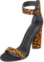 KENDALL + KYLIE Giselle Leopard Sandals