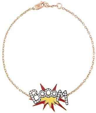 Monan rose gold Boom diamond bracelet