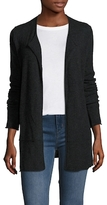 James Perse Cashmere Long Open Front Cardigan