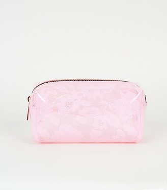 New Look Mid Lace Make-Up Bag