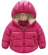 JELEUON Toddler Baby Boys Girls Puffer Cotton-padded Coat Jacket Kids Clothes XXL