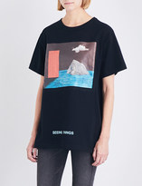 Off-White Door cotton-jersey T-shirt
