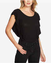 1 STATE 1.STATE Ruffle-Sleeve Bodysuit