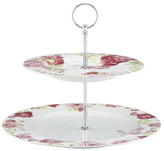 Gorham Blossoming Rose 2-Tiered Server