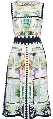 Mary Katrantzou Osmond Printed Stretch-cady Dress