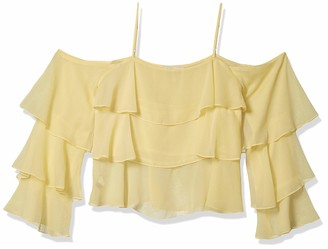 BCBGeneration Women's Tiered Ruffle Cami Top