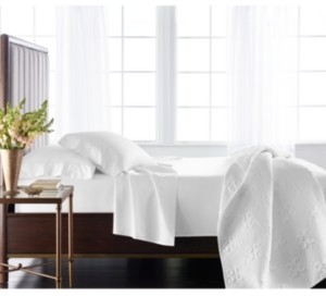 Hotel Collection Classic 800 Thread Count White Egyptian Cotton Queen Extra Deep Fitted Sheet, Created for Macy's Bedding