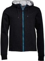 Bench Mens Bonded Nap Knitted Hoody Black