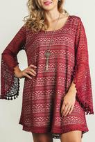 Umgee USA Lace Bell Sleeve Tunic