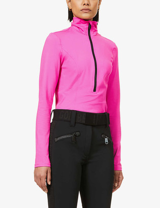 Goldbergh Selena stretch-recycled polyester top