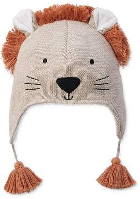 Elegant Baby Boys' Knit Lion Hat - Baby