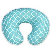 Boppy Pillow Slipcover, Classic Plus Trellis Turquoise/Blue by
