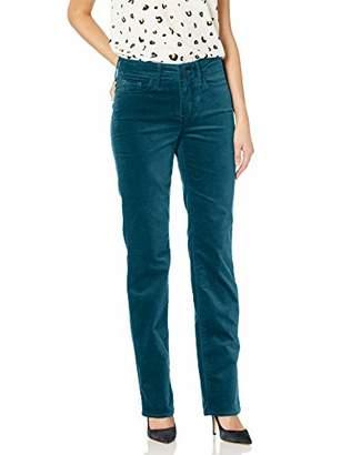 NYDJ Women's Marilyn Straight Leg Velvet Jeans