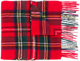 Barbour checked scarf
