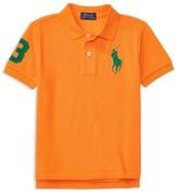 Ralph Lauren Boys' Big Pony Polo Shirt - Sizes 2-7