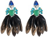 ABS by Allen Schwartz Stone & Feather Earrings - 100% Exclusive