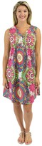 Jendi Circles Pintuck Dress