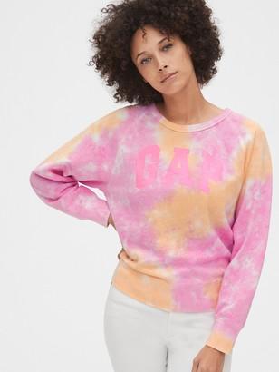 Gap Vintage Soft Logo Tie-Dye Sweatshirt