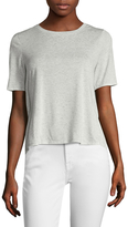 BCBGeneration Women's Tied High Low Tee