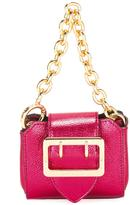 Burberry micro buckle tote - women - Calf Leather/Polyester/Leather - One Size