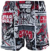 Briefly Stated Star Wars Movie Panel Men's Boxers
