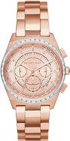 MICHAEL Michael Kors 38mm Vail Chronograph Watch, Rose Golden