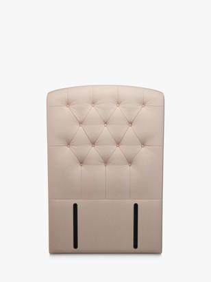 John Lewis & Partners Rouen Full Depth Upholstered Headboard, Single