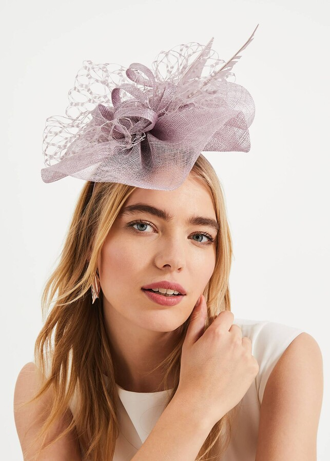 Phase Eight Sian Lace Bow Fascinator