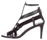 Gucci Leather Cage Sandals