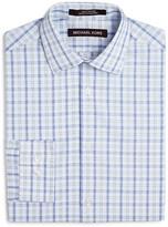 Michael Kors Boys' Open Plaid Dress Shirt