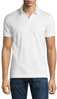HUGO BOSS Single-Jersey Polo Shirt, White