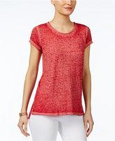 INC International Concepts Melange T-Shirt, Created for Macy's
