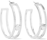 Versace Silver-tone Earrings - One size