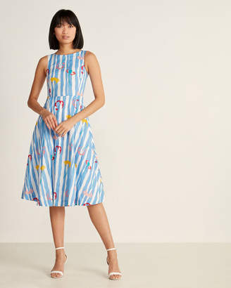 Emily And Fin Jasmine Salvation Floral Stripe Dress