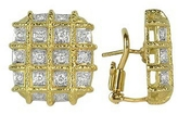 Torrini Wallstreet - 18K Yellow Gold Diamond Earrings