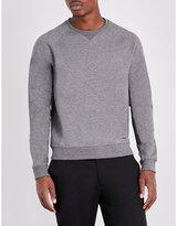 Hugo Boss Slim-fit Cotton-blend Jersey Jumper