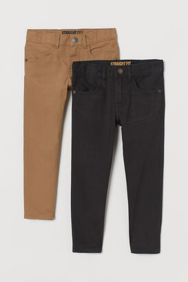 H&M 2-pack Straight Fit Pants
