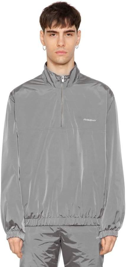 Misbhv Half Zip Crispy Nylon Track Jacket