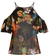 Pinko Tropical Print Camisole