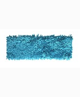 """Thumbnail for your product : Home Weavers Bella Premium Jersey Shaggy 24"""" x 72"""" Runner Rug Bedding"""