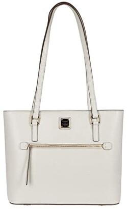 Dooney & Bourke Saffiano Shopper (Black) Handbags