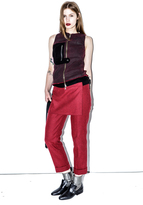 3.1 Phillip Lim Cuffed Apron Trouser with Utility Strap