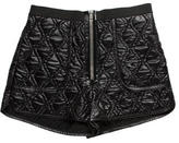 Alexander Wang Quilted Mini Shorts