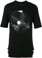 Helmut Lang disco ball T-shirt - men - Cotton/Modal - XS