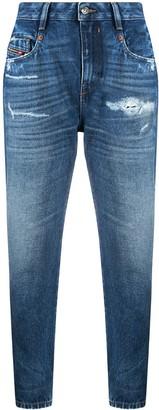 Diesel Fayza distressed boyfriend jeans