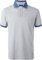 Hackett contrast collar polo shirt - men - Cotton/Spandex/Elastane - S