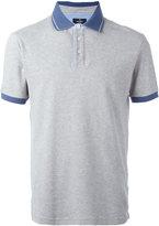 Hackett contrast collar polo shirt