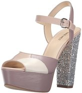 Nine West Women's Calliah Leather Platform dress Sandal