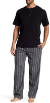 Majestic Thermal Henley & Flannel Pant Set
