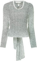 Dion Lee spiral rib sweater